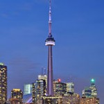 CN Tower in Toronto - Copyright by